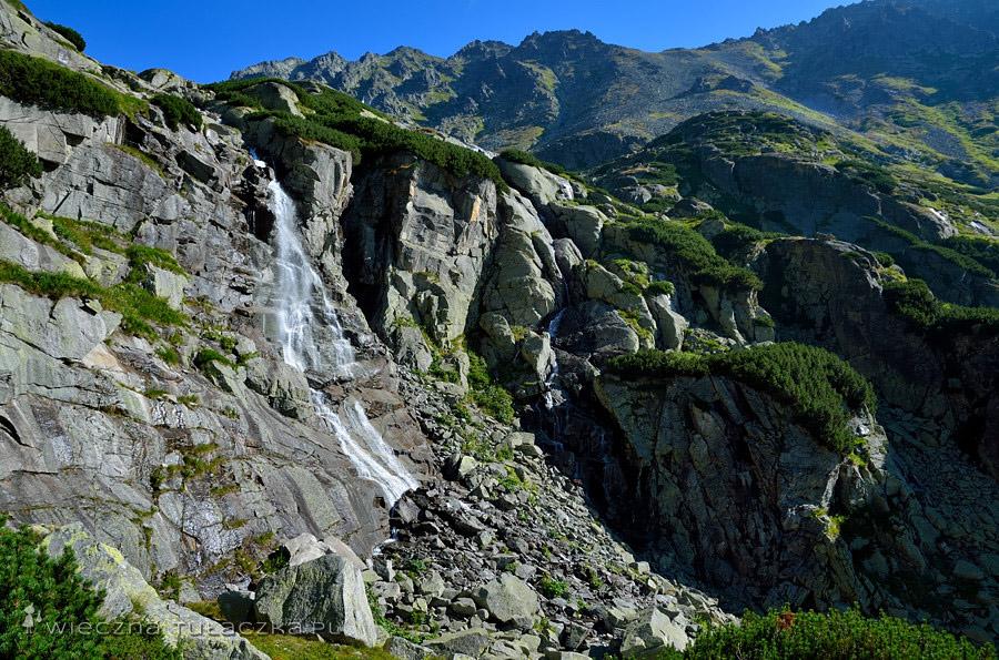 Wodospad Skok w Dolinie Młynickiej, Tatry