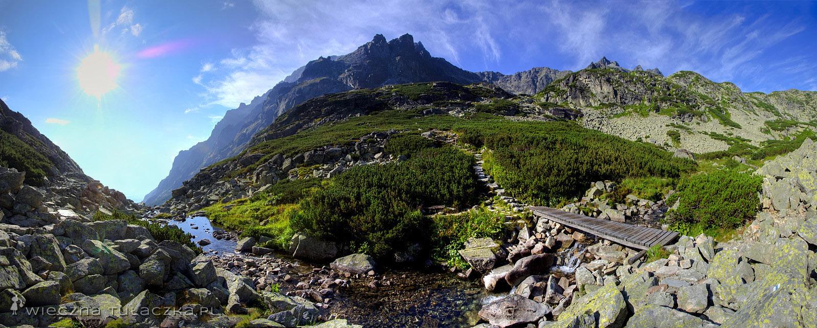 Dolina Staroleśna, szlak do Zbójnickiej Chaty