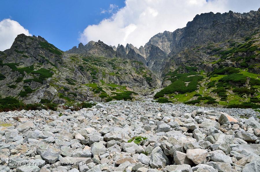 Łomnicka Grań, Dolina Małej Zimnej Wody