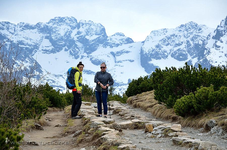 Orla Perć ze szlaku na Halę Gąsienicową