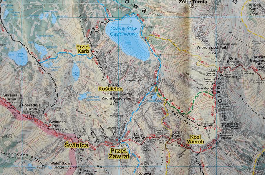 Jak Wybrać Dobrą Mapę W Góry