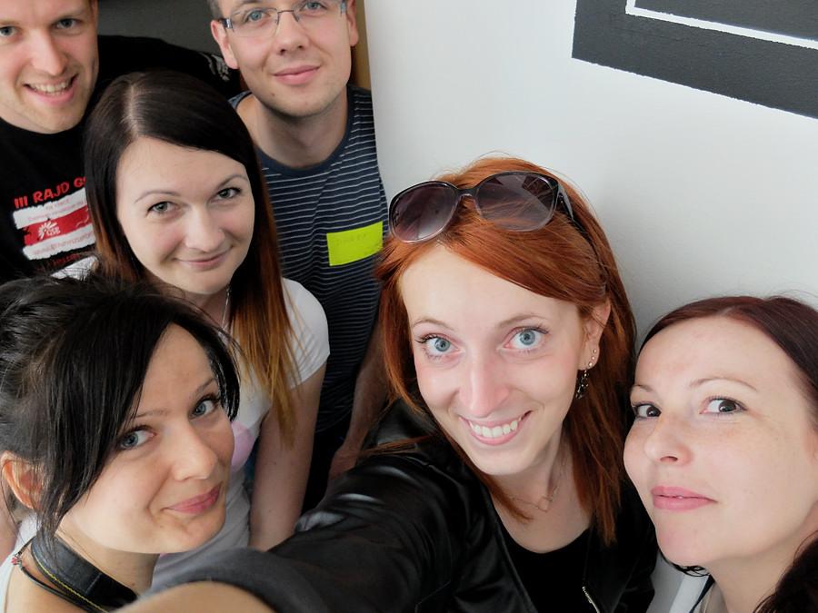 Jesteśmy zwycięzcami! :D Selfie by Ruda z Wyboru