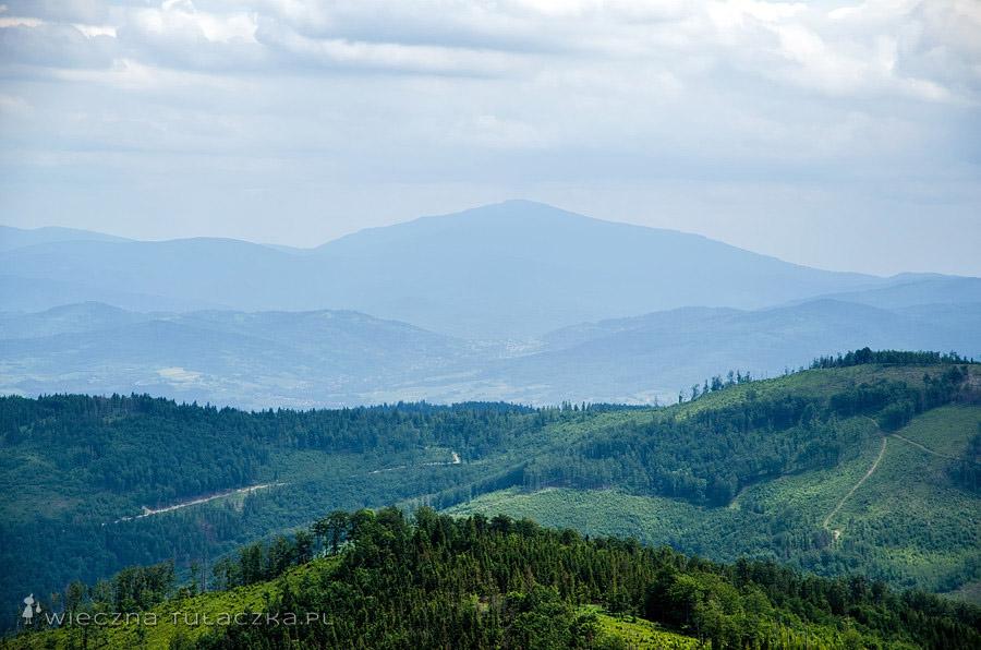 Babia Góra z Malinowskiej Skały
