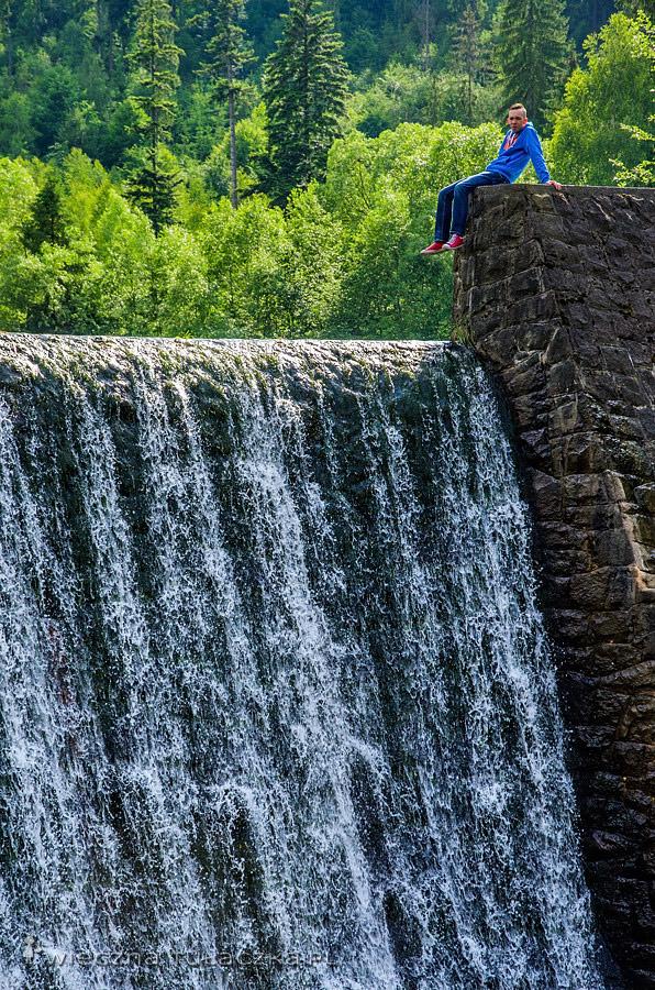Wodospad na Wisełce