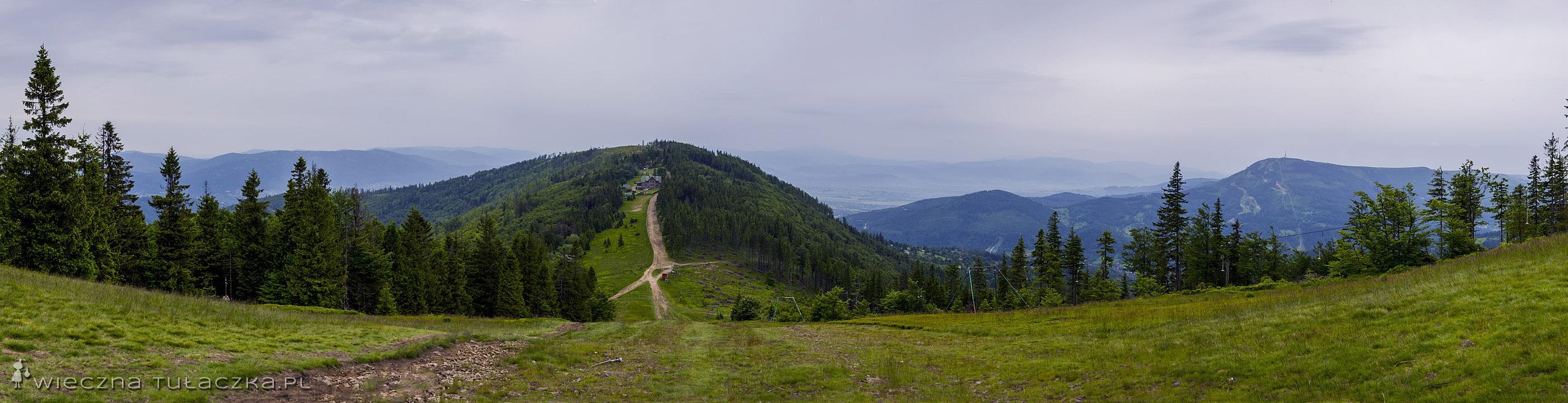 Klimczok, panorama