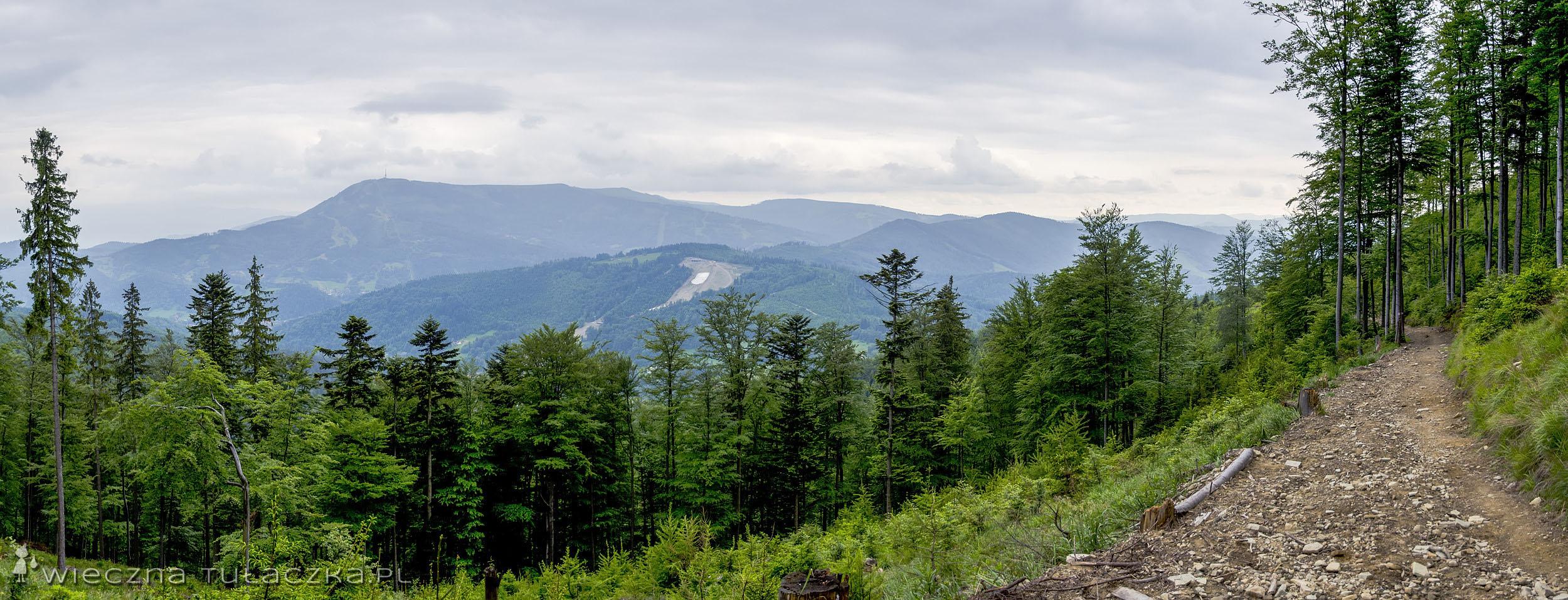 Szlak na Przełęcz Karkoszczonka