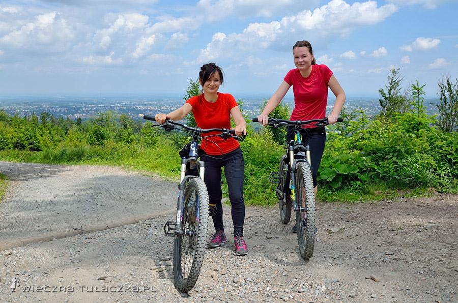 Kozia Góra na rowerze