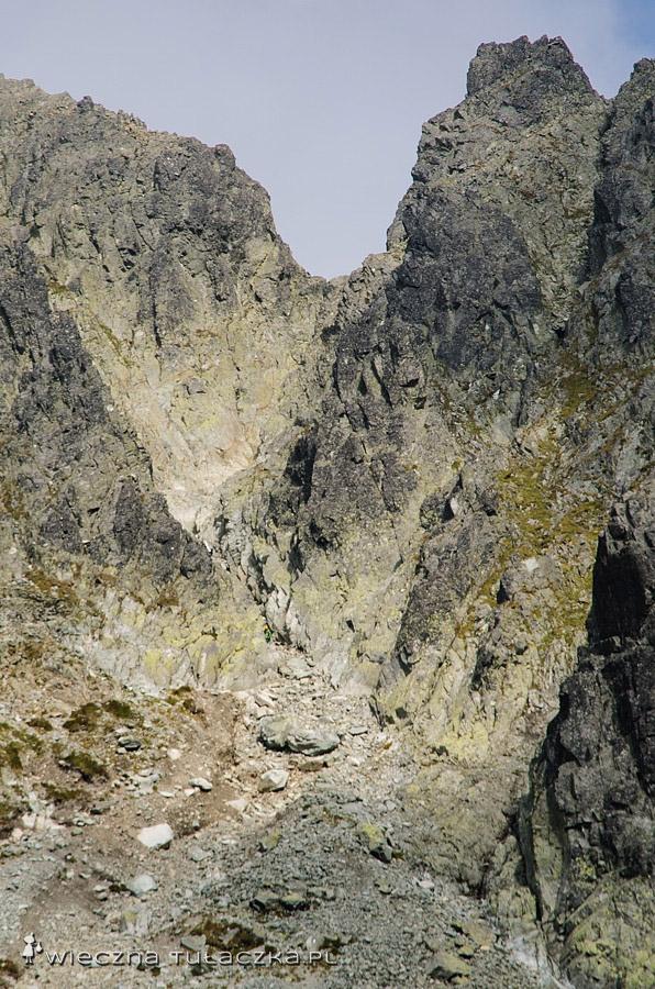 Rohatka, widok z Kotła pod Polskim Grzebieniem