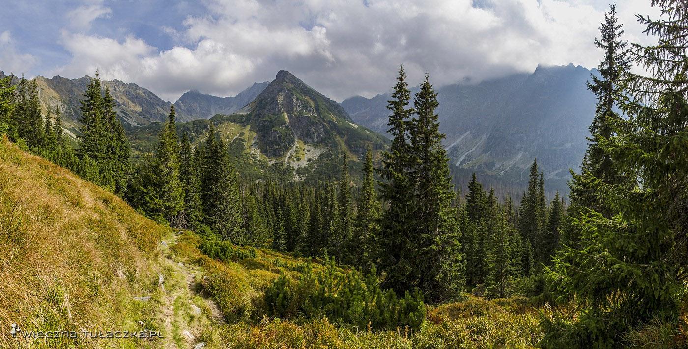 Tatry Wysokie z progu Kobylej Doliny