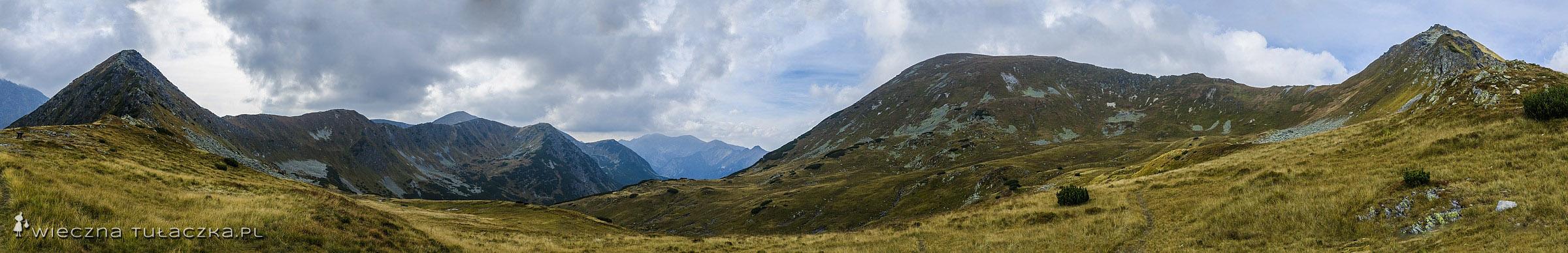 Zawory, panorama