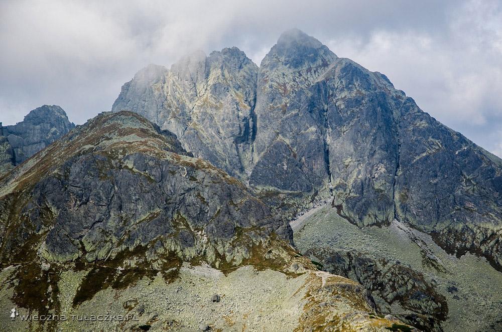 Kozi Wierch z Gładkiej Przełęczy