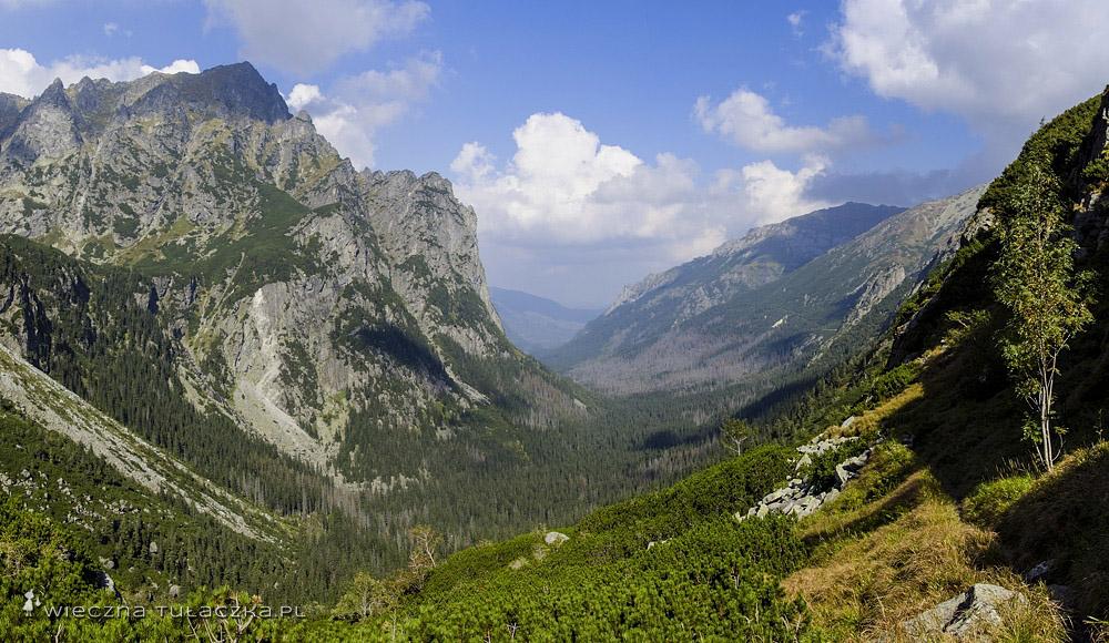 Dolina Białej Wody - opis szlaku
