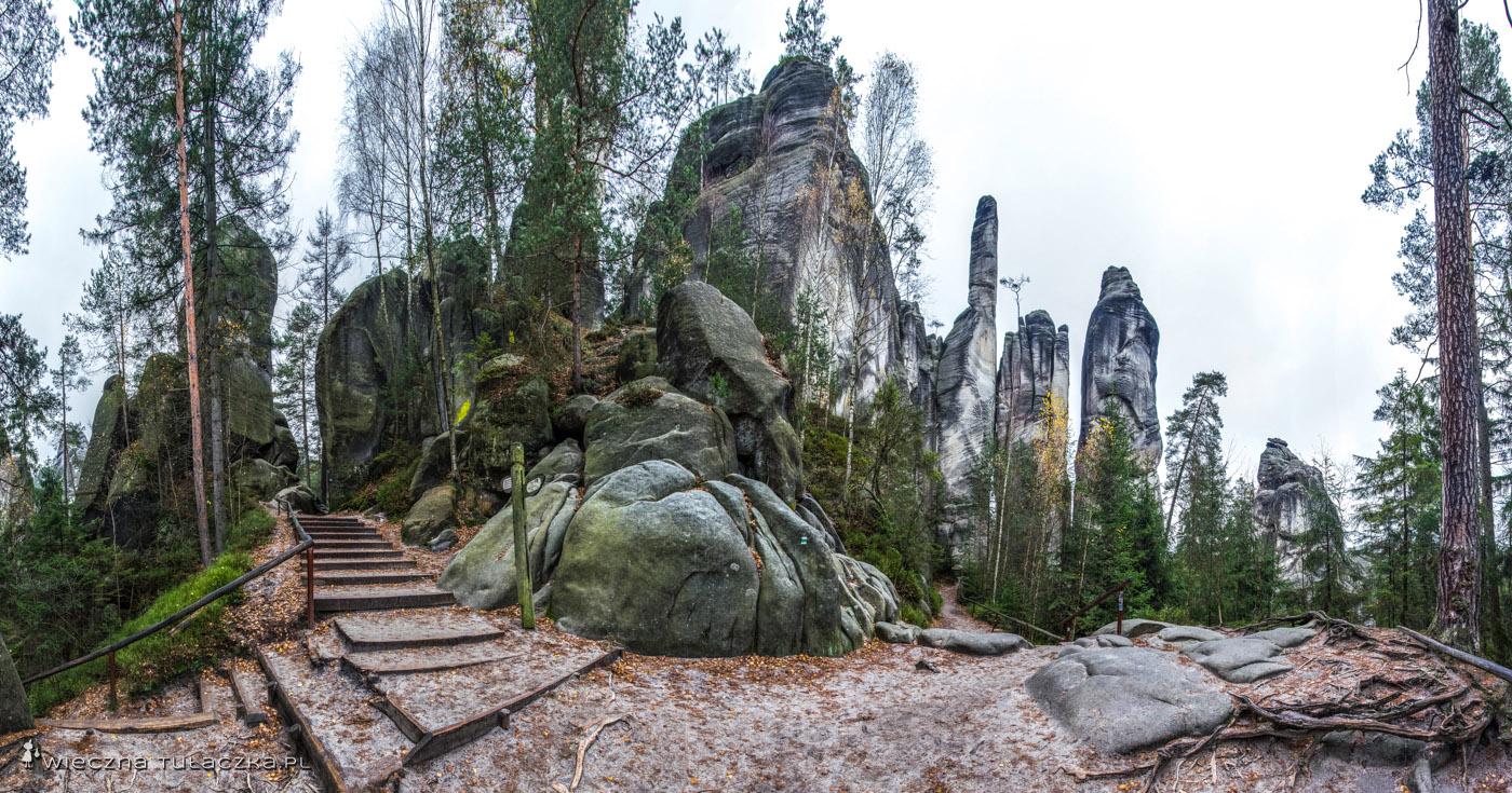 Adršpach, skalne miasto w Czechach