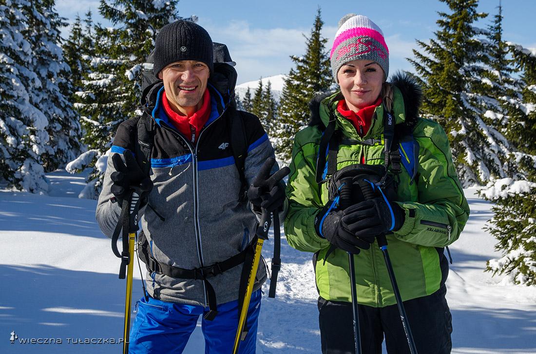 Arek i Daria, z którymi w lipcu ruszam na Kazbek