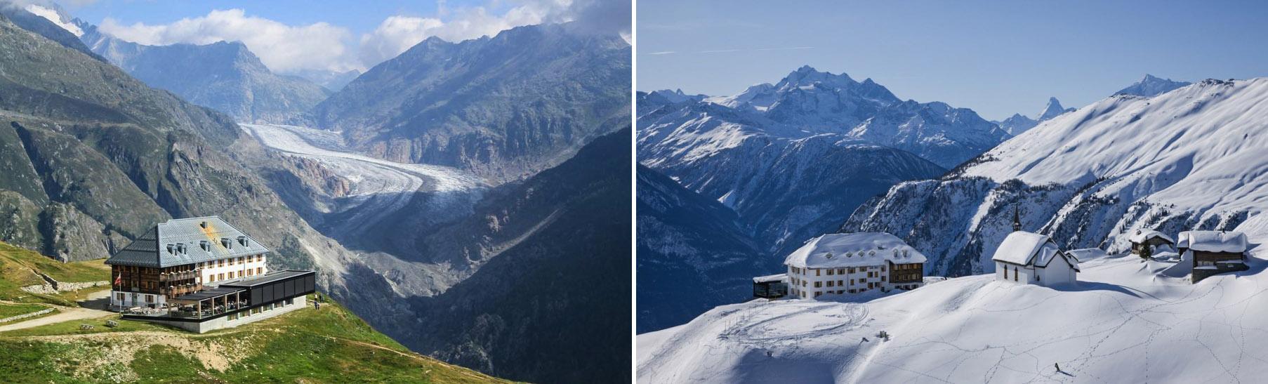 Hotel Belalp w Szwajcarii
