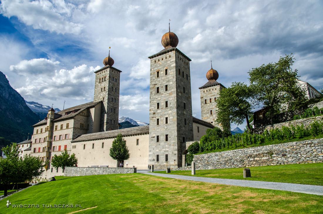 Zamek Stockalpera w Brig, kanton Wallis