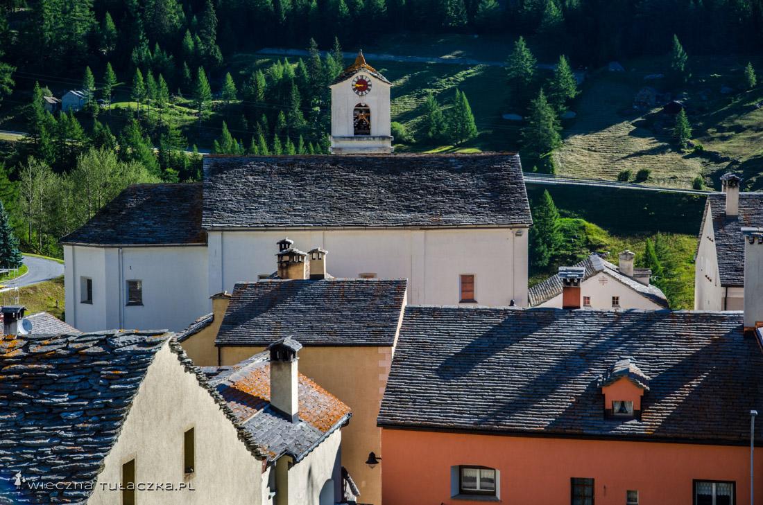 Simplon-Dorf. Szwajcaria