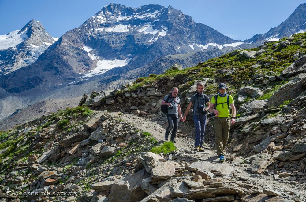 Szlaki a Alpach, Wallis