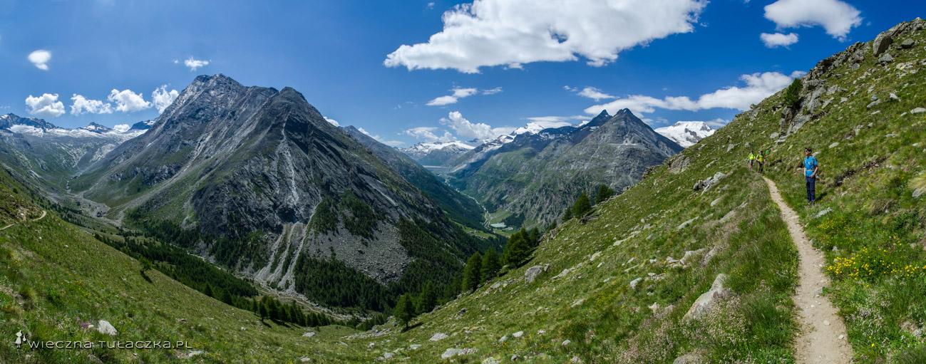 Almagellerhorn, Wallis