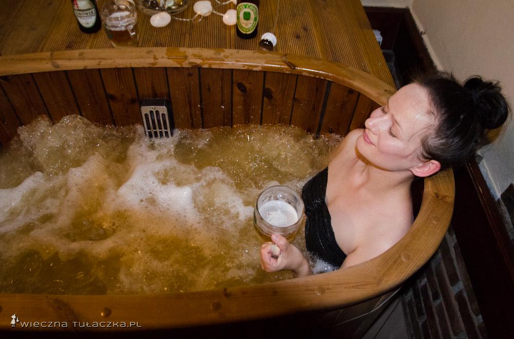 Piwna kąpiel