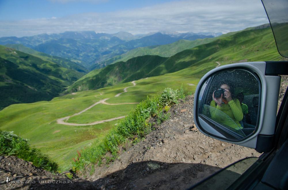 Okolice przełęczy Datvisjvari