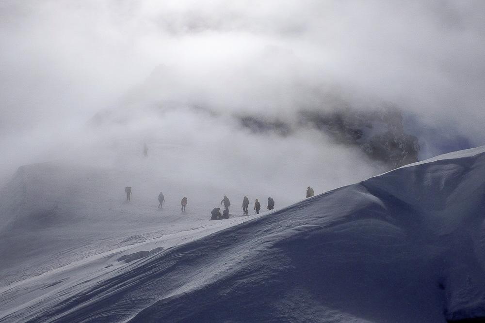 Kazbek wejście
