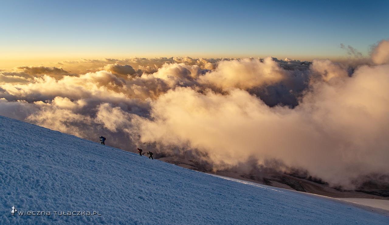 Droga na Elbrus