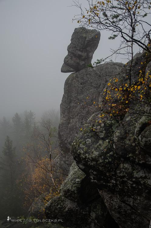 Głowa Króla, Góry Stołowe