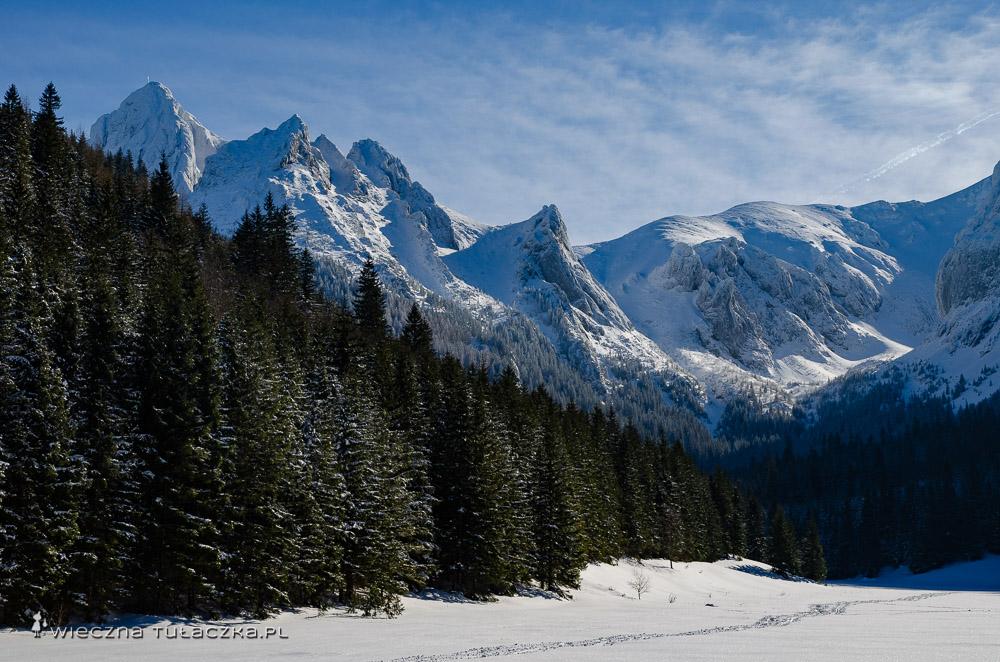 Wielka Polana Małołącka zimą