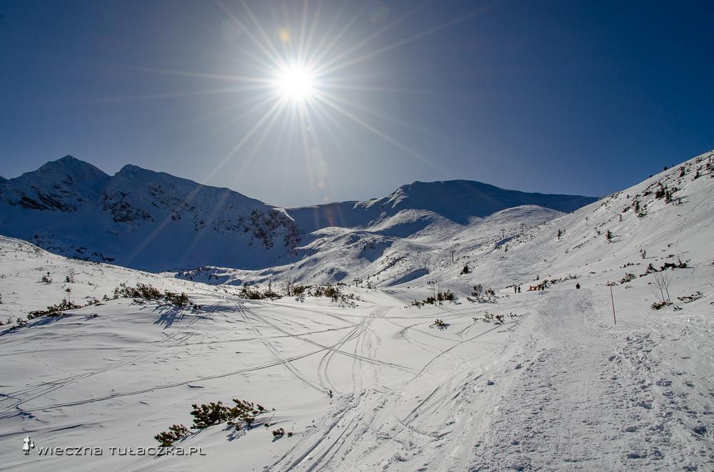 Zimowy szlak na Suchą Przełęcz