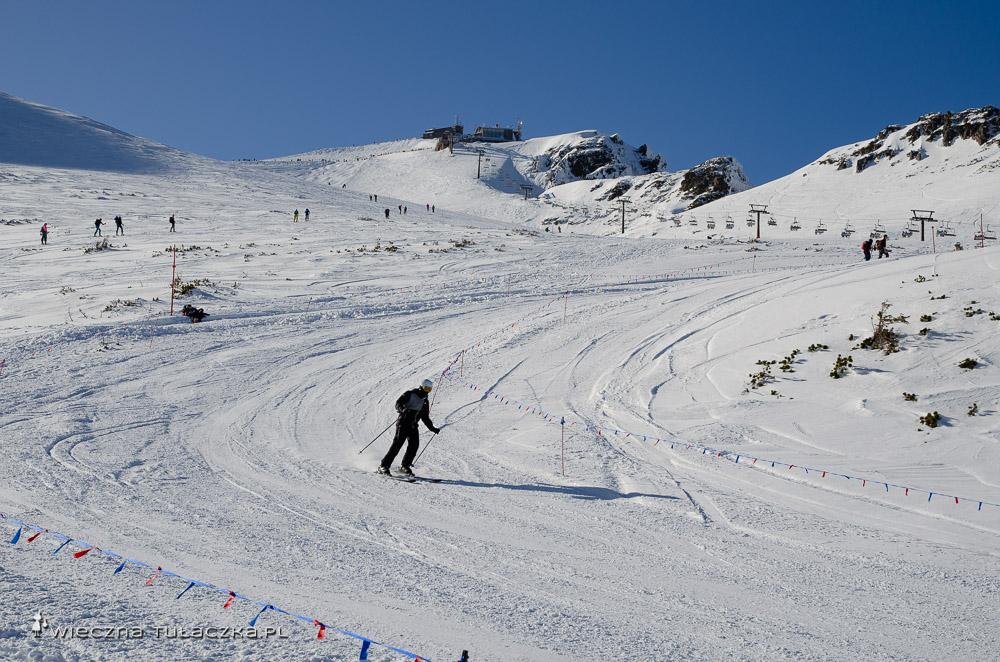 Zimowy szlak na Kasprowy Wierch
