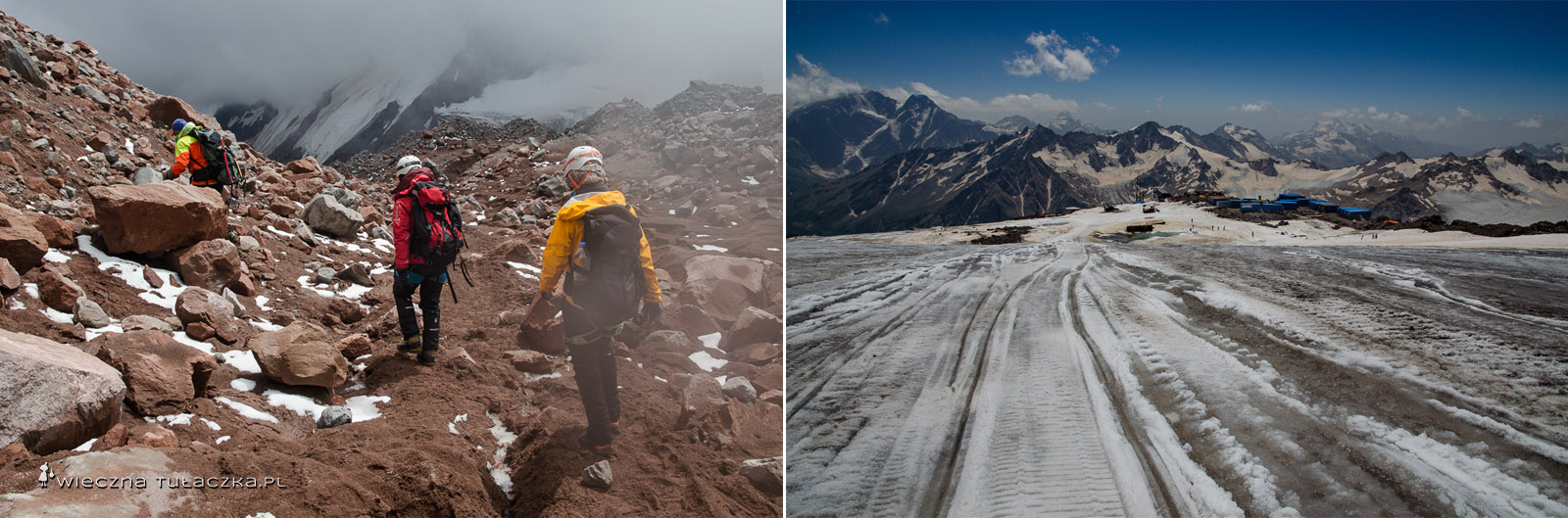 Wyprawa na Kazbek i Elbrus