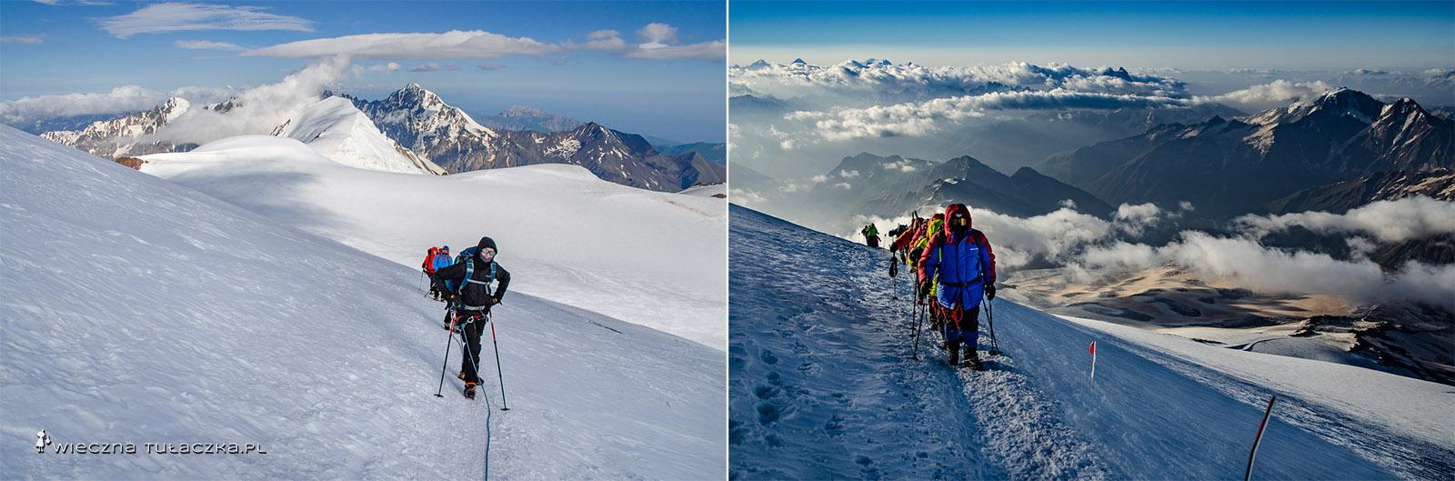 Droga na Kazbek i Elbrus