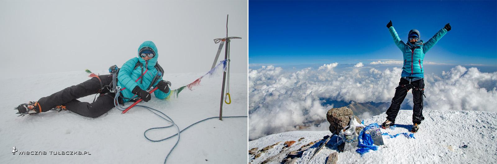 Kazbek i Elbrus