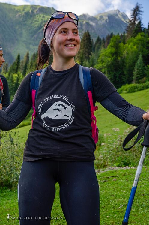 Trekking w Gruzji