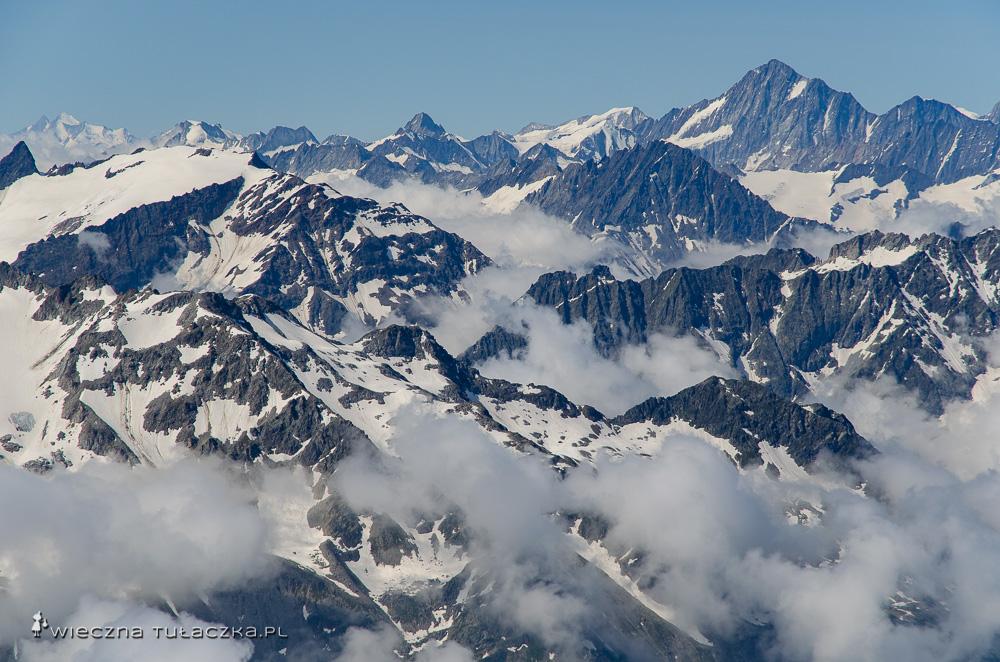 Titlis, widokowa góra w Szwajcarii