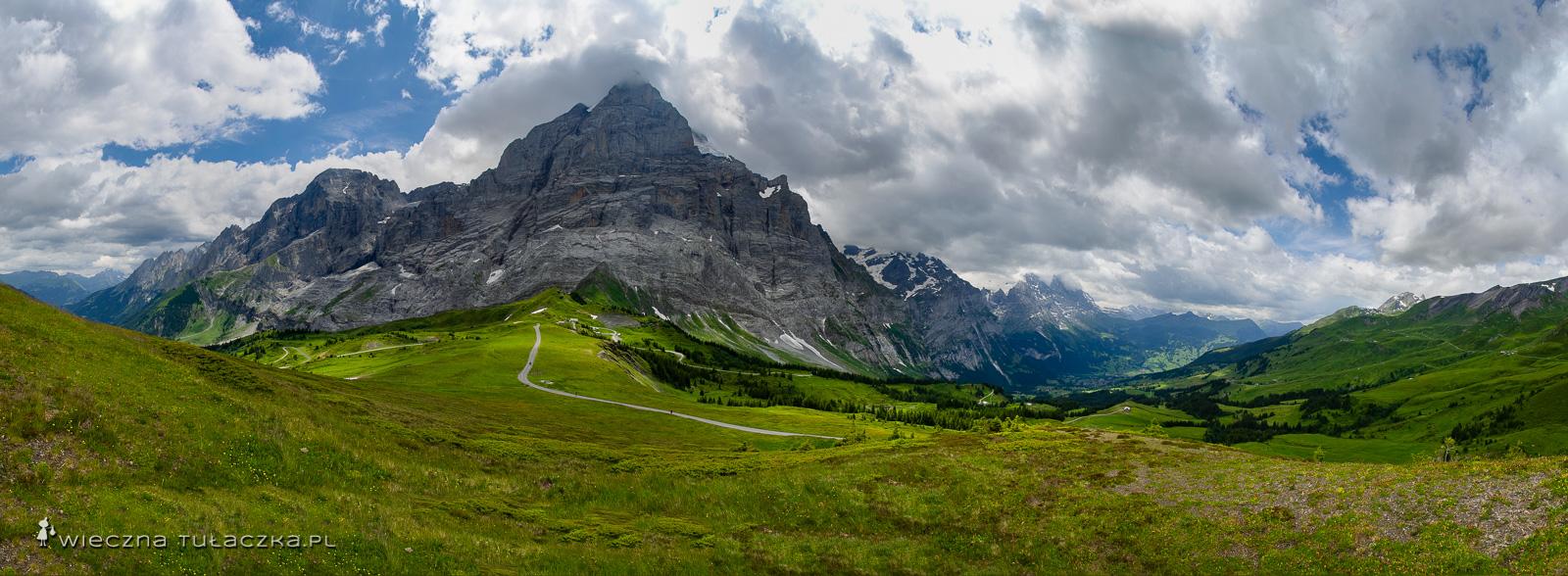 Panorama z Grosse Scheidegg, Szwajcaria