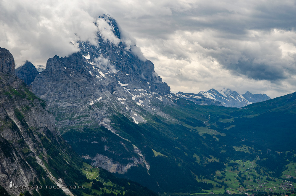 Eiger, na trasie Via Alpiny