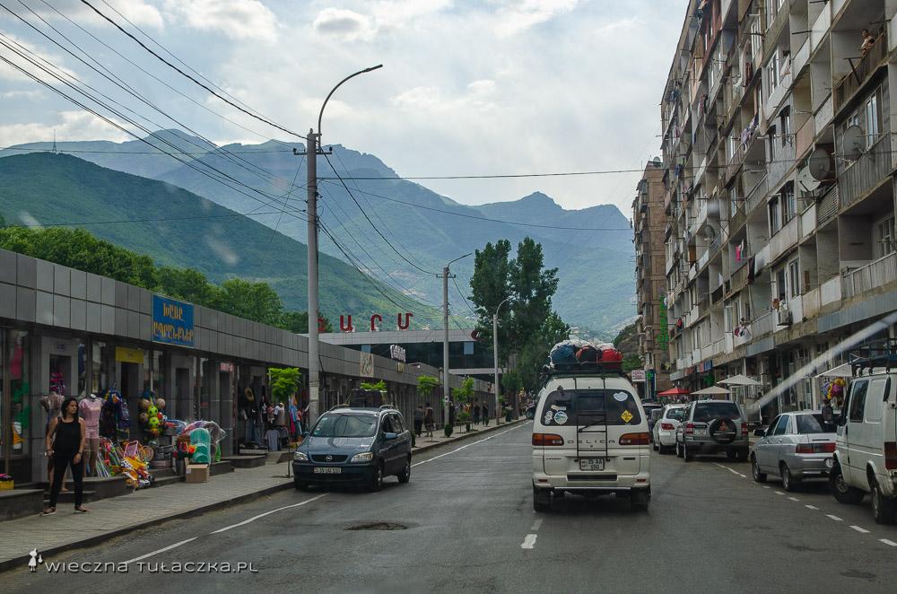 Miasto Kapan w Armenii