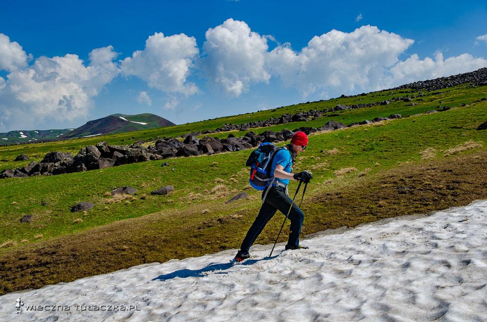 Szlak na górę Azhdahak w Armeniii