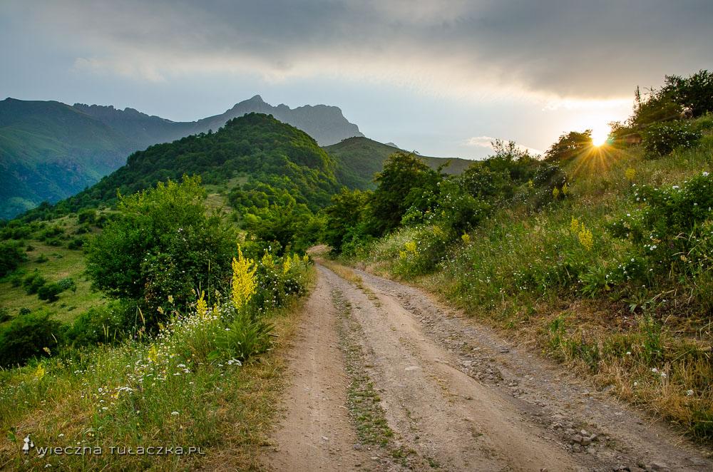 Góra Khustup w Armenii