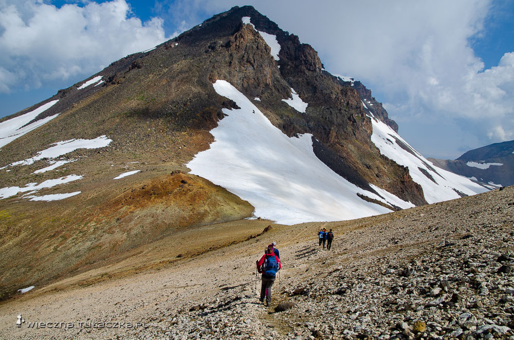 Aragac - opis drogi na szczyt
