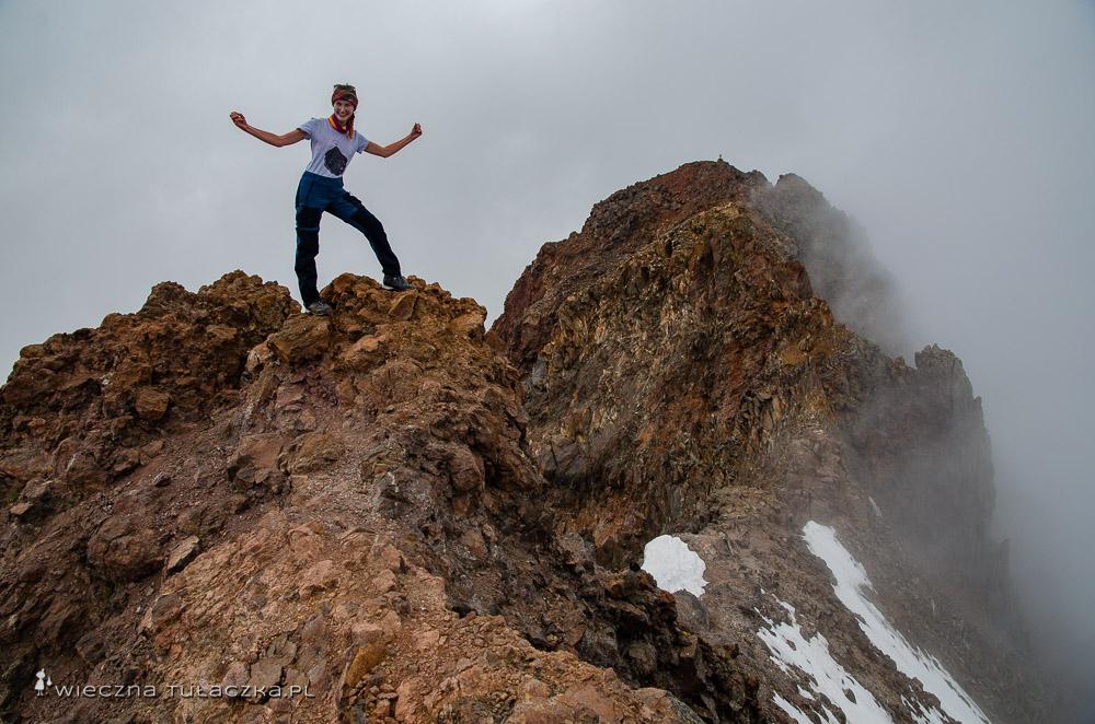 False Peak I wierzchołek główny Aragatsu