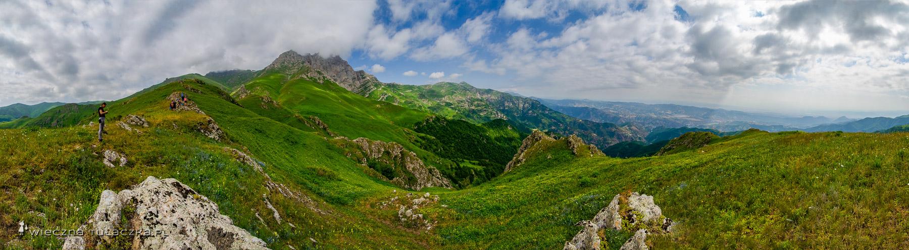 Szlak na Khustup w Armenii