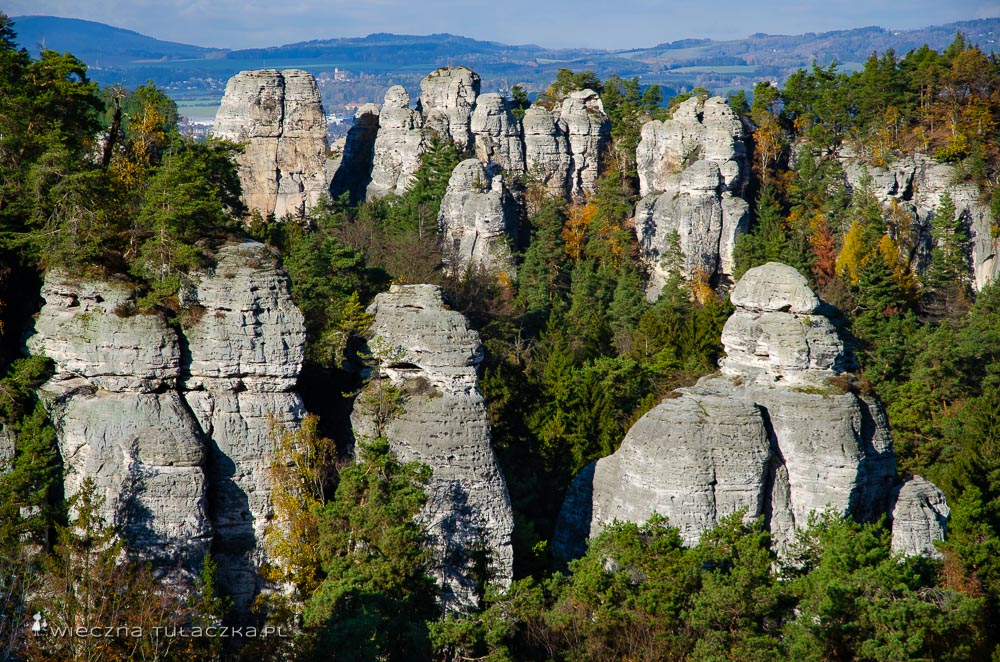 Czeski Raj, Hruboskalsko
