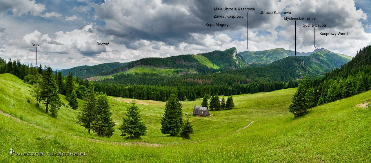 Szlak na Giewont przez Kalatówki, Tatry