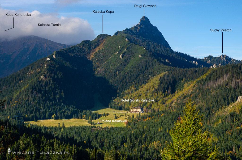 Giewont w Tatrach