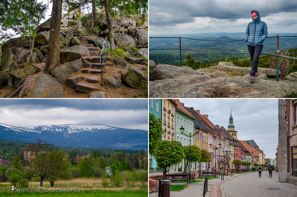 Opis zielonego szlaku Szklarska Poręba - Wałbrzych