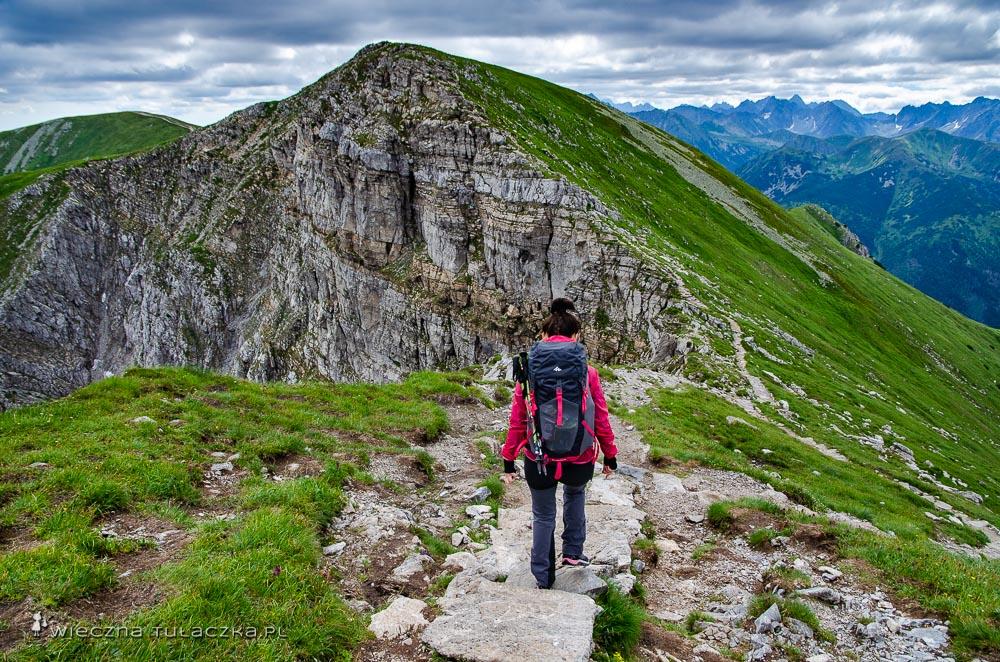 Mułowa Przełęcz i szlak na Krzesanicę