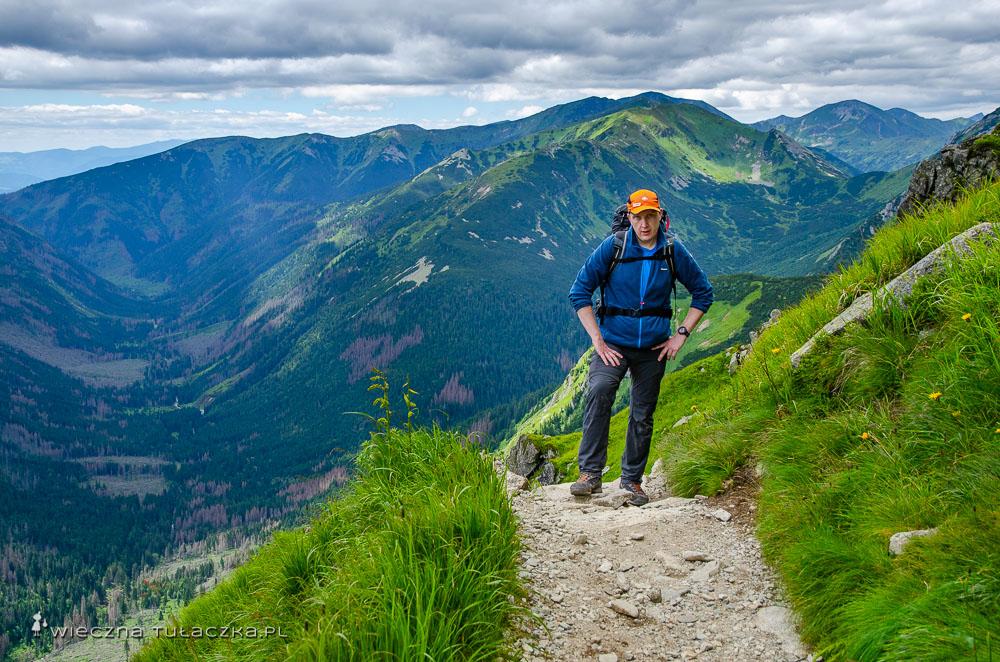 Szlak na Wysoką Suchą Czubę w Tatrach